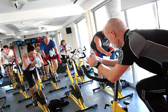 Interval training pe biciclete de fitness