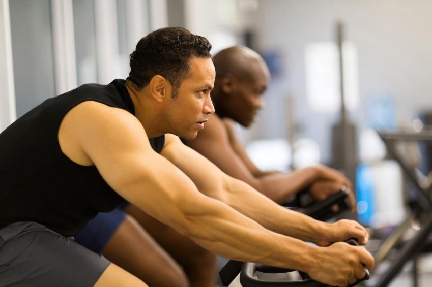 Exerciții Tabata pentru biciclete de fitness