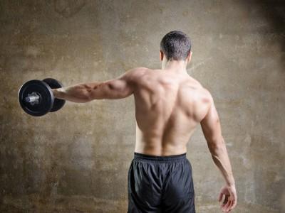 Antrenament zilnic - tricepși mai mari în numai 30 de minute