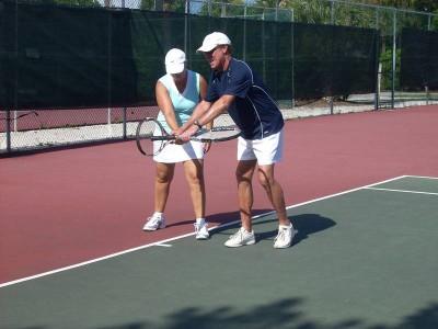 Bazele instruirii în tenis