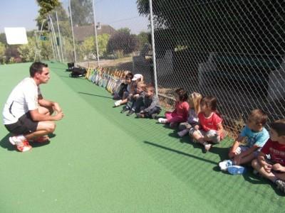 Iniţierea în tenisul de câmp