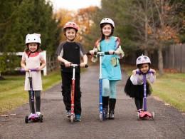 Cum te poate ajuta o trotinetă pentru copii pe tine