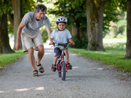 Bicicletele de copii - amintiri frumoase