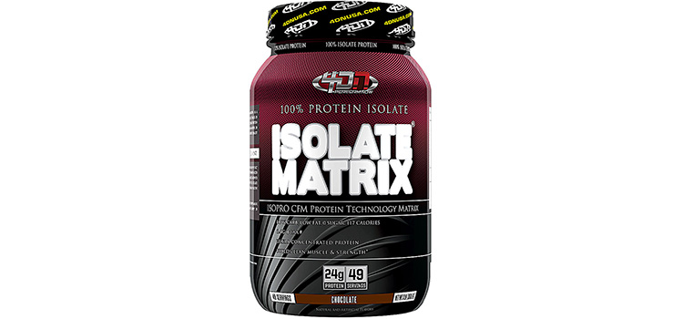 Review 4 Dimension Nutrition - Isolate Matrix