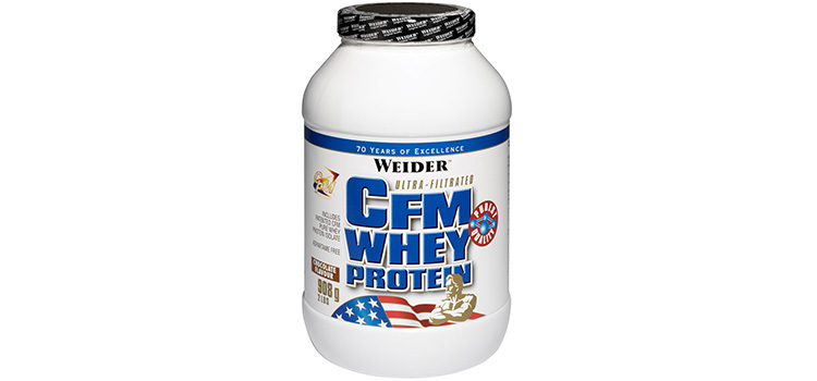 Review Weider - CFM Whey Protein