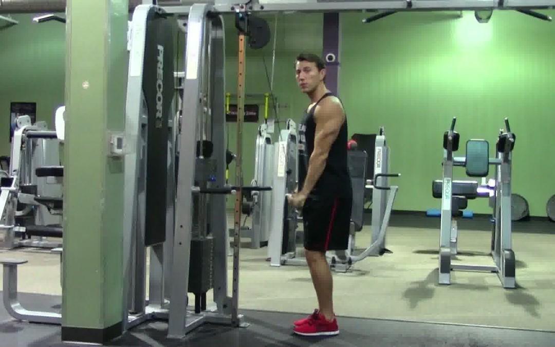Extensii pentru triceps la helcometru