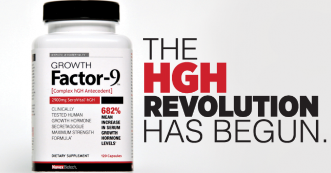 Growth Factor 9 supliment HGH