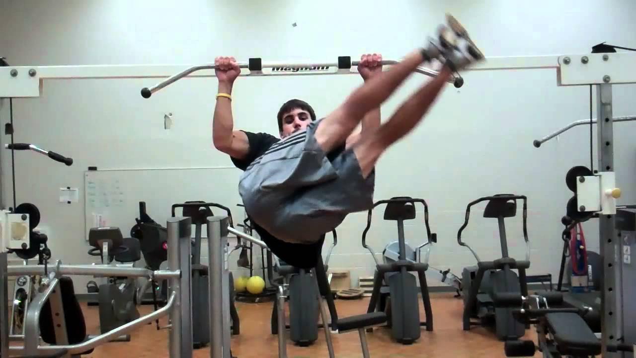 Windshield wiper - cel mai solicitant exercițiu pentru abdomen