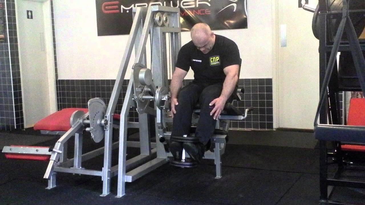 Exercitii pentru gambe - Ridicari de varfuri